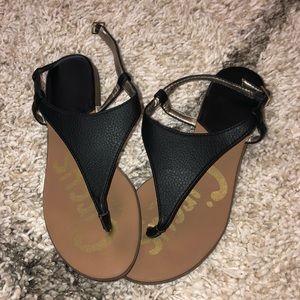Black Sam Edelman Circus Sandals